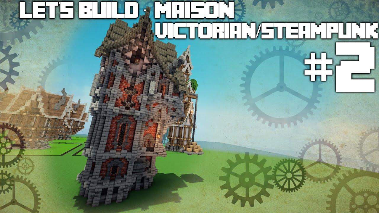 Minecraft Maison Steampunk