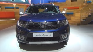 Dacia Sandero Stepway TCe 90 ECO-G 5MT (2019) Exterior and Interior