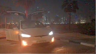 "Tesla Model X ""Dancing in Dubai"""