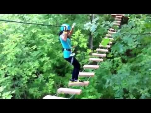 Treetop Trekking Ziplining & Aerial Course!!