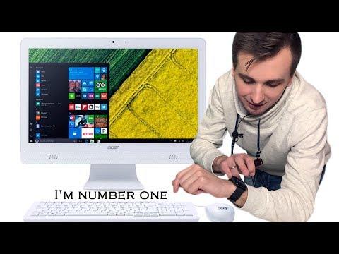 Обзор моноблока Acer Aspire C20-720   Практичный и доступный ПК!