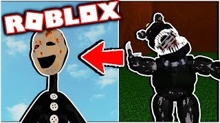 Aftons Family Diner Secret Character 1 Tortured Puppet! [Roblox FNAF] Five Nights at Freddy's