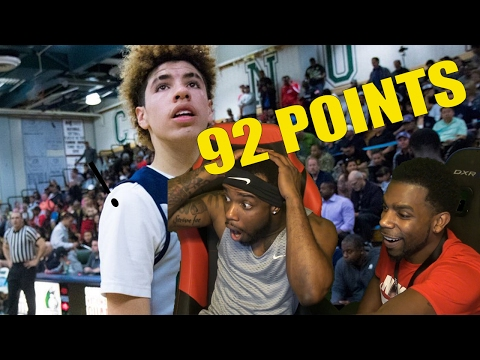 LaMelo Ball SCORES 92 POINTS IN A GAME!! REACTION! Impressed Or Naw?!