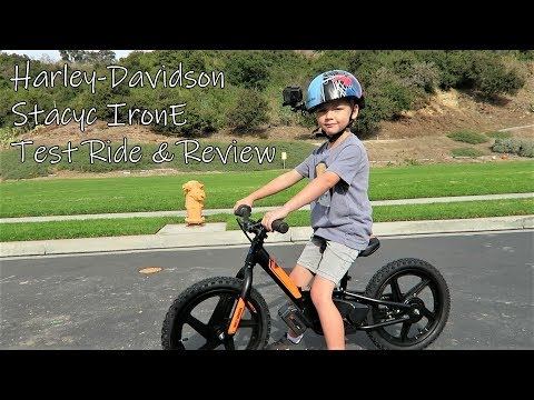 Harley-Davidson Stacyc IRONe │Test Ride and Review