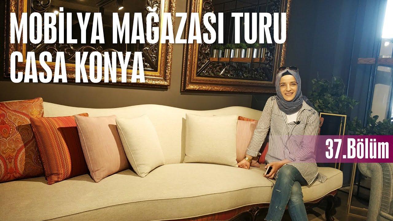 MOBİLYA MAĞAZASI TURU | CASA MOBİLYA KONYA / Her Bölümü Farklı Bir Ev Turu / Dekorasyon Önerileri