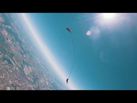 Matt Provo - The First Skydive Bungee Jump