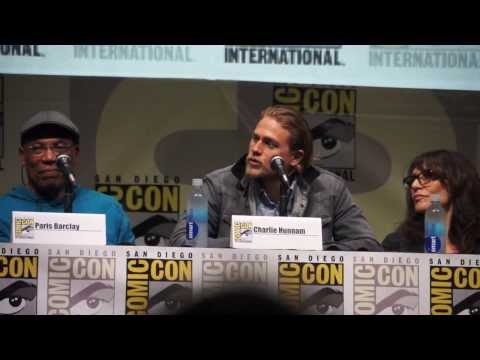 Charlie Hunnam On Becoming Like Jax's Father On Son's Of Anarchy @ SDCC (7-21-13)