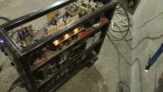 Самодельный сварочный аппарат: обзор трёхфазного сварочного аппарата.