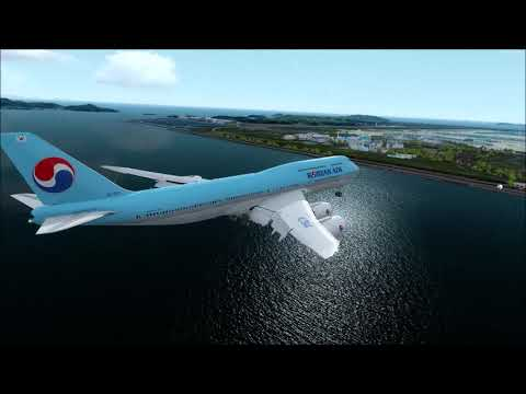 P3D v4 5 Pacsim[PIS] Incheon RKSI airport review with various views