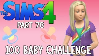The Sims 4: 100 Baby Challenge - Cute Rainbow (Part 78)