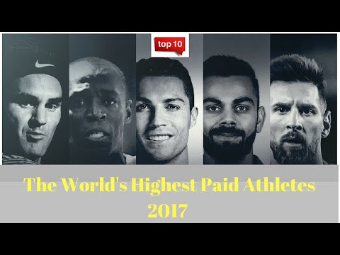 Top 10 Richest Athletes in the World 2017 (Forbes) new Updates HD