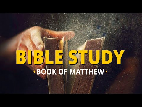 Day 3 - Bible Study on Matthew (30 Sept 2017) | Blessing Today Morning Glory