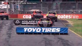 2017 Clipsal 500 Stadium SUPER Trucks Race 2