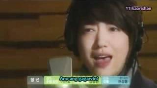 Without a word (tagalog version) - He
