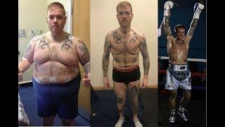 Похудел на 90 кг (со 152 кг) ради бокса