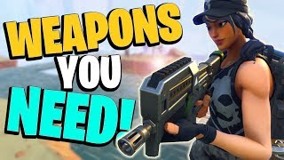 *MUST* HAVE WEAPONS! The Best Weapons in Fortnite Save the World PVE