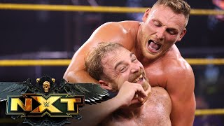 Ridge Holland punishes Timothy Thatcher with help of Dunne, Burch & Lorcan: WWE NXT, Aug. 24, 2021