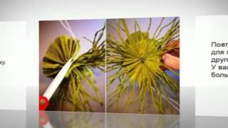 Как сделать красивые бумажные люстры