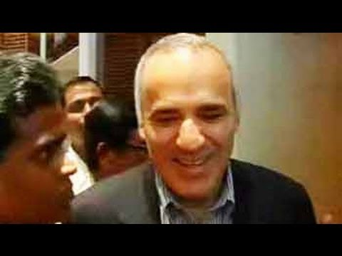 Chess is like boxing, it starts slow: Garry Kasparov