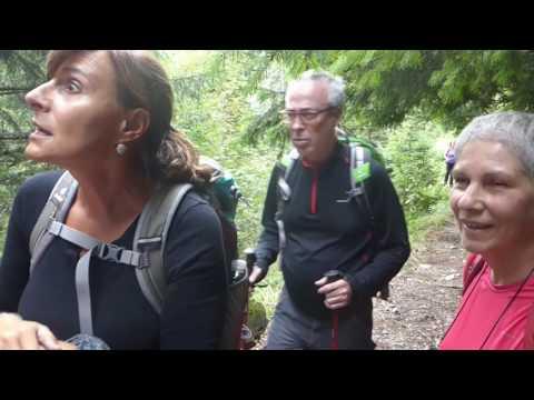 2016-07 QPH, viaje a Rumania, Caminata Lago Bâlea