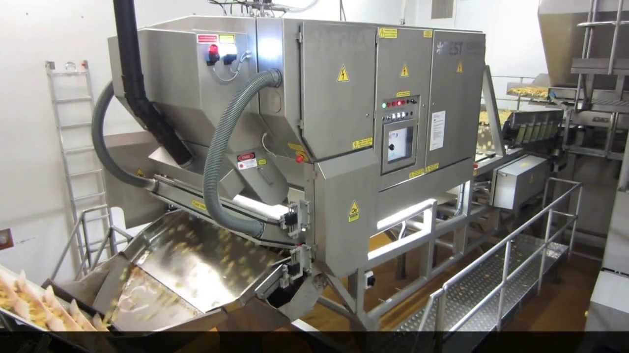 Kettle chips sorter Genius - TOMRA Sorting