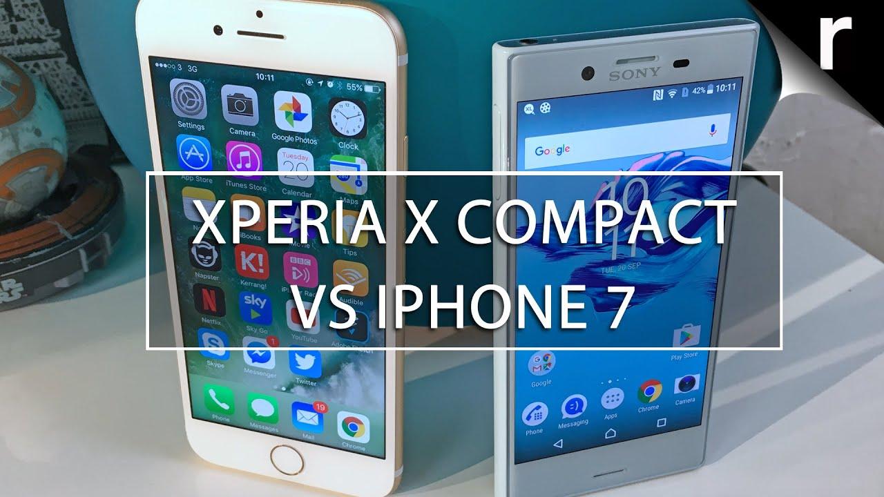 xperia f8132 vs iphone 7