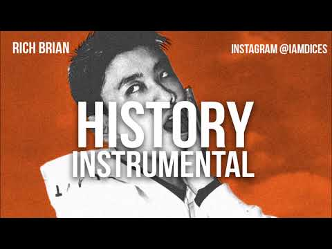 """Rich Brian """"History"""" Instrumental Prod. By Dices *FREE DL*"""