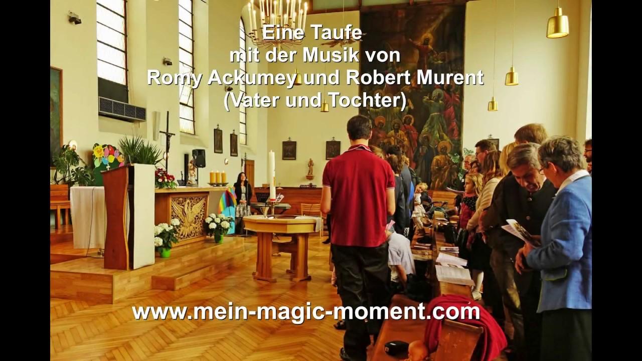 Eine Taufe mit Mein-Magic-Moment