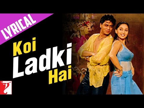 Lyrical: Koi Ladki Hai Song with Lyrics | Dil To Pagal Hai | Shah Rukh Khan | Anand Bakshi