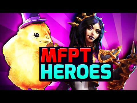Heroes of the Storm | MFPallytime & Frands Squadron Heroes Gameplay | Li-Ming HYPE! | HOTS