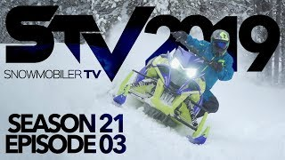 Snowmobiler TV - 2019 Episode 3 ( Ultimax Belts Factory Tour & Yamaha SRX First Burn )