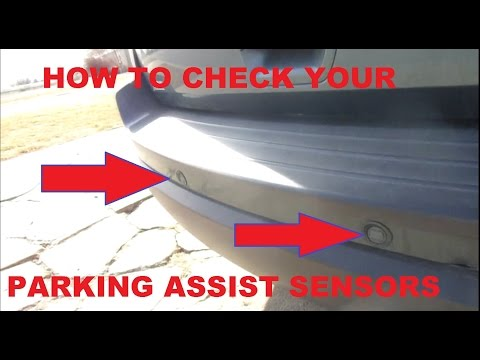 How to Check Parking assist Sensors