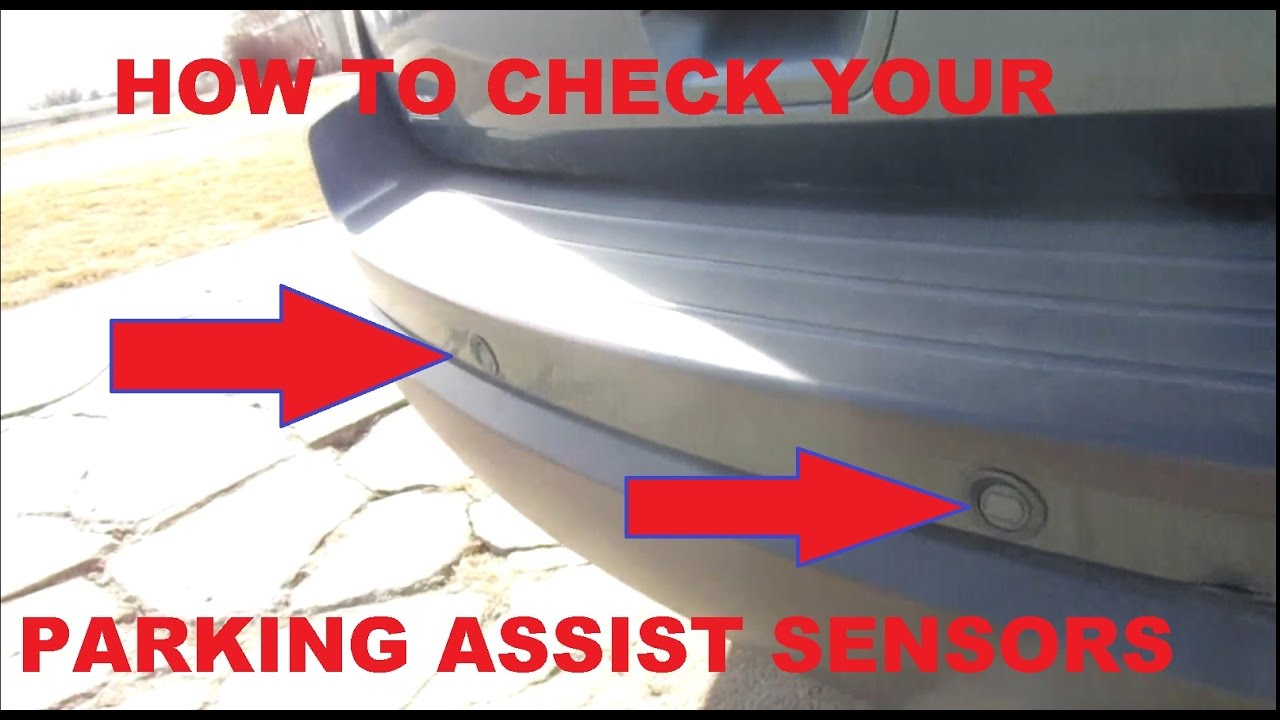 How to Check Parking assist Sensors  YouTube