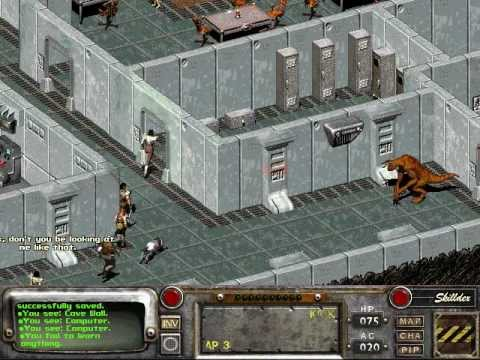 fallout 2 how to end