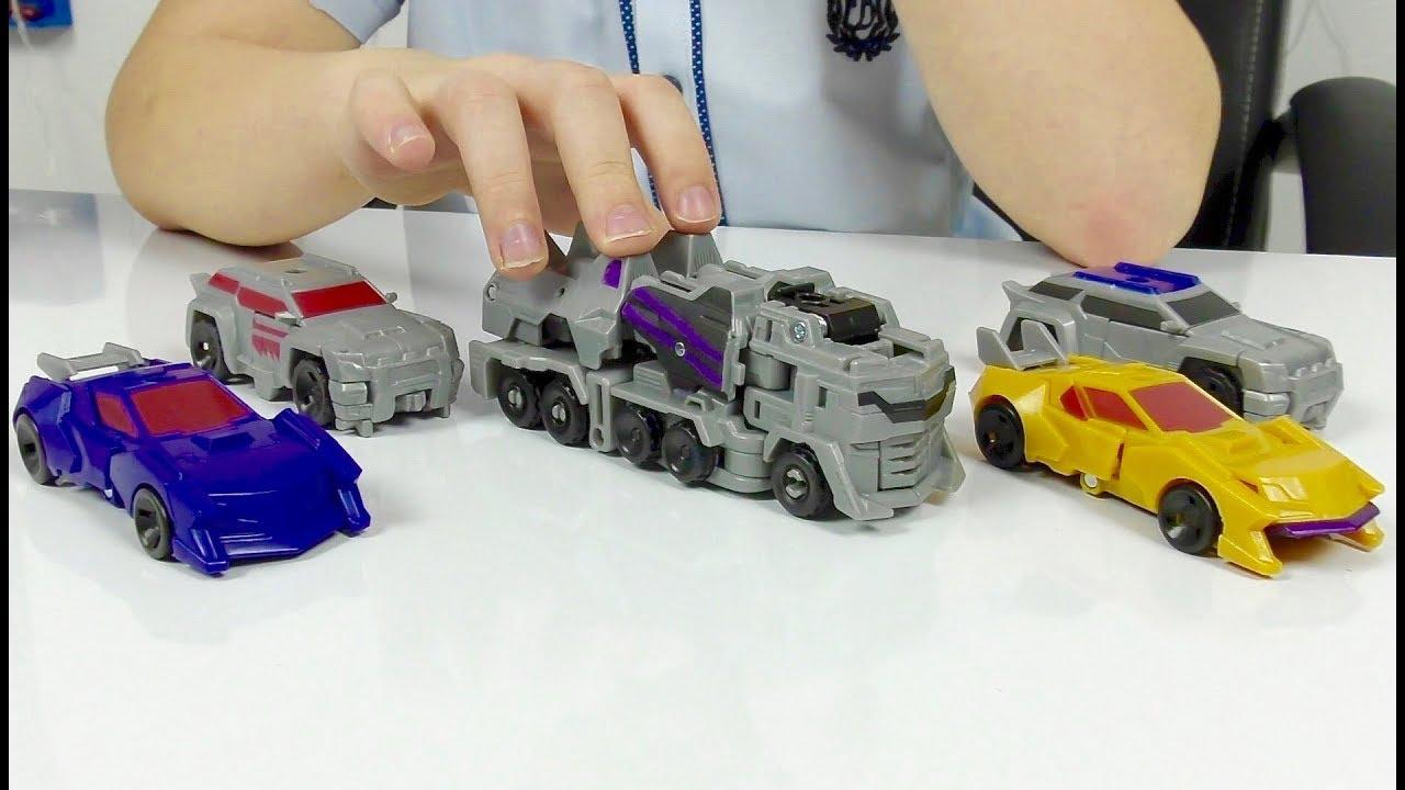 ТРАНСФОРМЕРЫ Автоботы ДЕСЕПТИКОНЫ Машинки из МУЛЬТИКА для Мальчиков Transformers cars