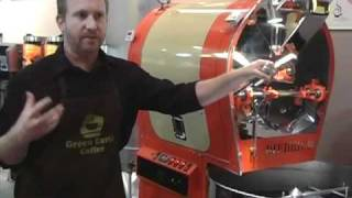 Coffee Roasting Sumatra, Using a Diedrich IR Series roaster. Orange County CA.