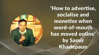 How to advertise  socialise and monetise