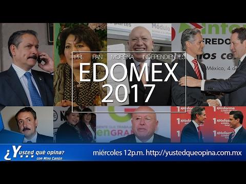Conoce a los candidatos a Gobernador del Estado de México 2017