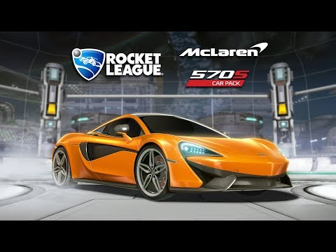 Rocket League® - McLaren 570S Car Pack Trailer