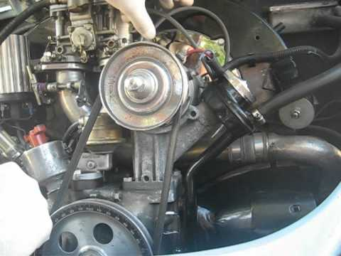 hqdefault how to adjust your firing order on your volkswagen youtube vw beetle spark plug wire diagram at virtualis.co