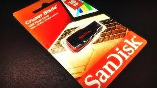 USB Flash SanDisk Cruzer Blade 16Gb USB 2.0. Обзор и тестирование!)