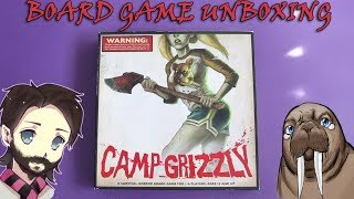 Camp Grizzly | Board Game Unboxing | Gaming With Walrus