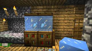 how to make a fish tank in minecraft minecraft furniture episode 4