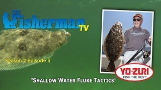 Shallow Water Fluke Tactics  (summer Flounder)