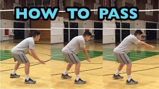 Passing FUNDAMENTALS - How to PASS Volleyball Tutorial (part 1/6)
