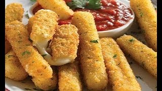 Mozzarella Sticks ~ Easy & Delicious!!