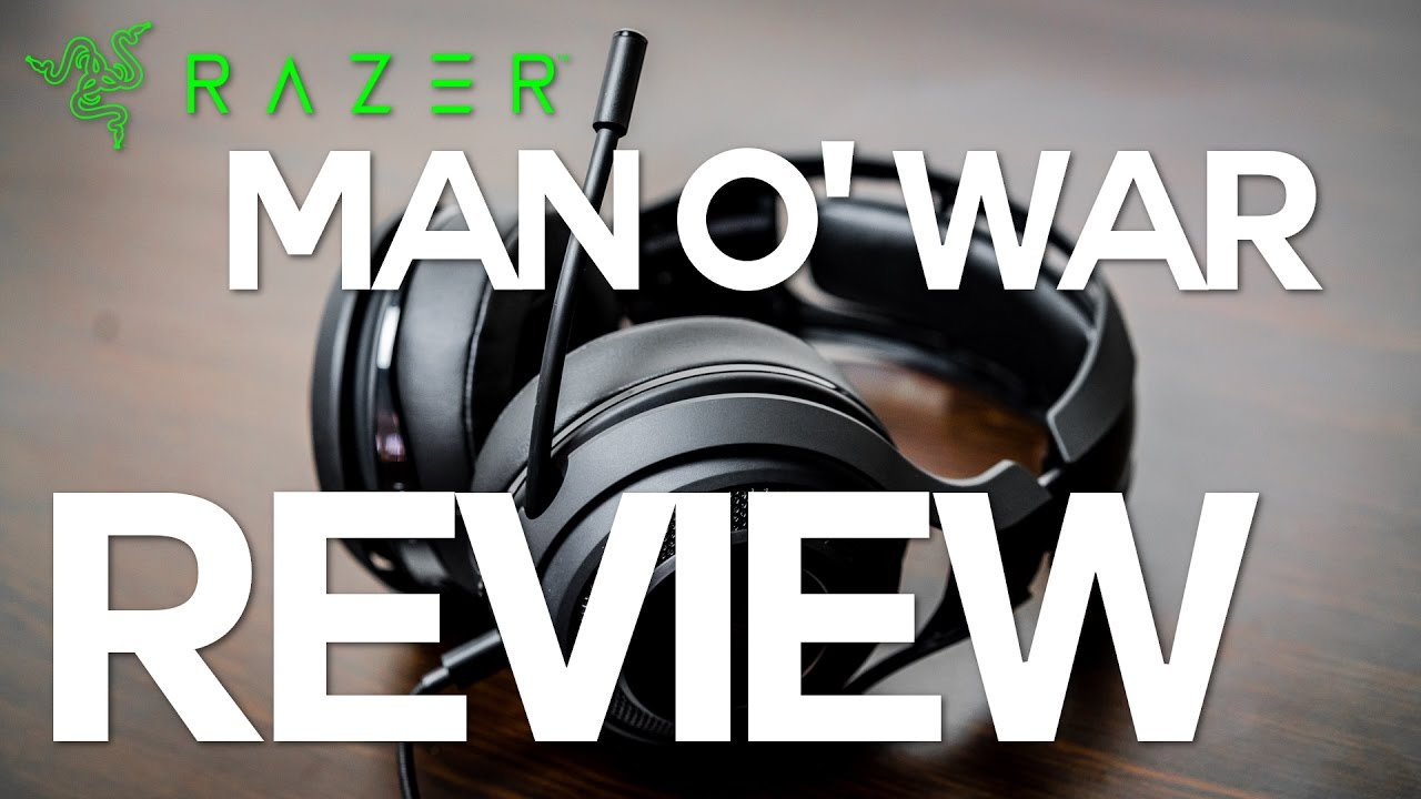 how to know if razer man o war is charged
