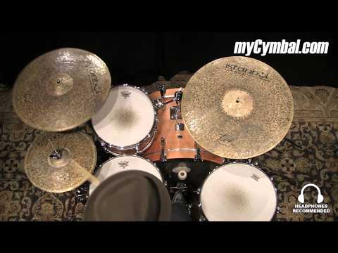 "Istanbul Agop 18"" Custom Series Turk Crash Cymbal - Played by Terence Clark (TC18-1052014EE)"