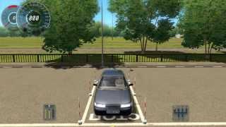 Въезд в гараж (автодром) 3D Инструктор