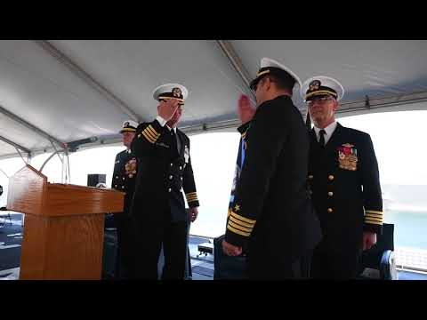 DFN: COMLCSRON ONE Change of Command, SAN DIEGO, CA, UNITED STATES, 03.30.2018